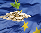 La finalul lui 2013, rata de absorbtie curenta a fondurilor structurale si de coeziune a depasit 33%
