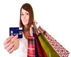 Cumpărăturile cu cardul de credit sunt mai ieftine decât cele cu cash
